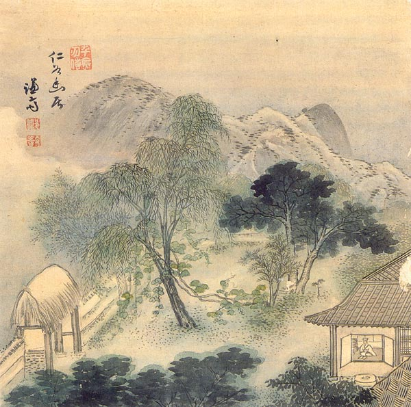Korean traditional painting | KJGWOW